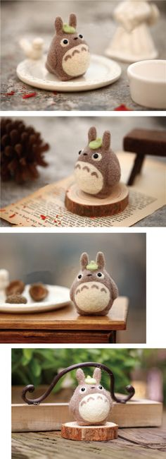 Totoro being cute as always :)