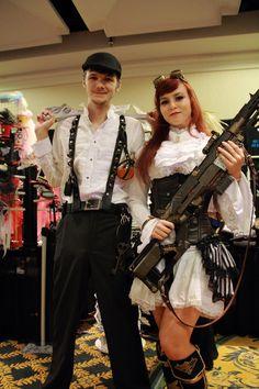 steampunk couple - Google Search