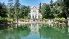 Villa d'Este in Tivoli, Lazio