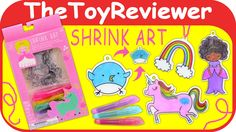 Check out Shrink Art (aka Shrinky Dinks) here: https://www.youtube.com/watch?v=OZA8qQgXLZ8