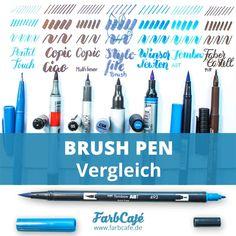 Brush Pen   der große Brushlettering - Vergleich
