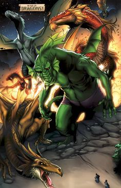 Fin Fang Foom screenshots, images and pictures - Comic Vine