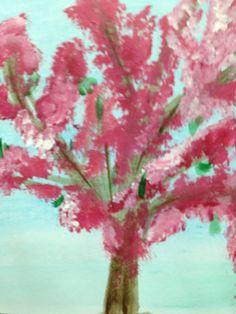 "Carla - ""De Kersenboom"" 15 oktober 2013 Painting, Art, Shop Signs, Painting Art, Paintings, Kunst, Paint, Draw, Art Education"