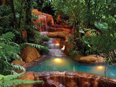 The Springs Resort & Spa, Arenal, Costa Rica. Perdido Springs...natural hot springs!!