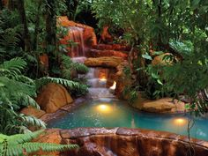 The Springs Resort & Spa, Arenal, Costa Rica. Perdido Springs...natural hot springs!!