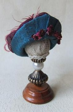 Miss Amelia's Miniature Edwardian Hats