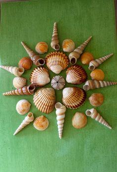 """Art ~ """"Sea Scape Sculptures"""" ~ Sea Shells Original Art"""