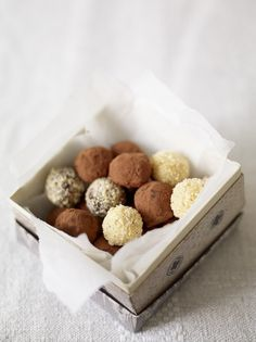 Chocolate surprise truffles