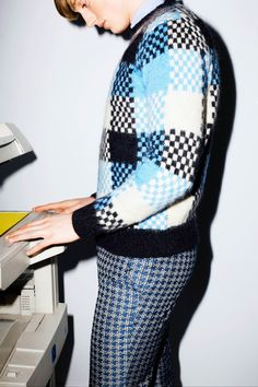 See the Maison Kitsune autumn/winter 2015 menswear collection