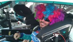 In case you missed it - @JimmieJohnson's fun pre-race look. (Dover, June 3, 2012)