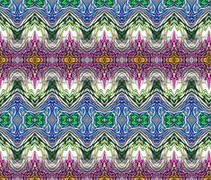 Neon_Pinstripes1_C_X fabric by k_shaynejacobson on Spoonflower - custom fabric