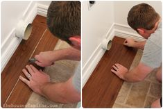 peel and stick flooring. The House of Smiths - Home DIY Blog - Interior Decorating Blog - Decorating on a Budget Blog