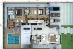 2019 Lake County Dream House quebra a terra . Dream Home Design, Tiny House Design, Home Design Plans, Pool House Plans, Small House Plans, Home Building Design, Building A House, Modern Furniture Sets, Furniture Ideas
