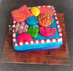 CANDY CRUSH - by K & M Cakes @ CakesDecor.com - cake decorating website
