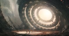 ArtStation - The Old observatory, Leon Tukker