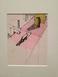 In November 2012 I visited the Aldo Rossi: Theatres exhibition at the Magazzini del Sale in Venice. Rossi's sketches are highly memorable and seem to embody the thinking of Giulio Camillo's Theatre of Memory. (photo æ). BD review