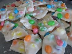 3 simple ingredients make Jelly Bean Bark a fun no-bake recipe that is kid friendly!