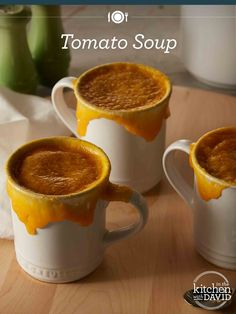 Who doesn't love homemade tomato soup?!