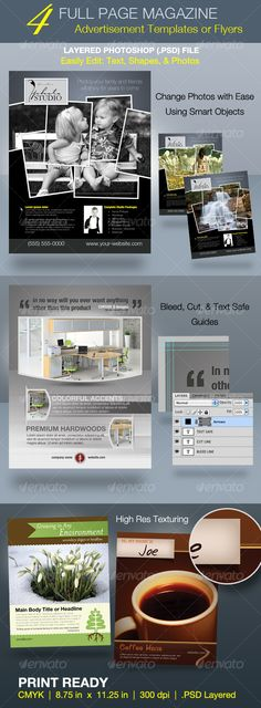 23 best print ad templates images on pinterest leaflet design