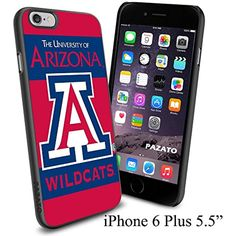 "NCAA THE UNIVERSITY OF ARIZONA WILDCATS , Cool iPhone 6 Plus (6  , 5.5"") Smartphone Case Cover Collector iphone TPU Rubber Case Black * Click image to review more details. (This is an affiliate link) #CasesHolstersClips"