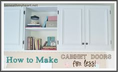 How To Make Your Own Cabinet Doors!