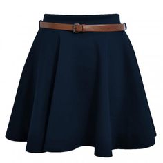 Navy Blue Skirts