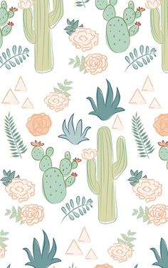 Watercolor cactus wallpaper fresh pin by helen m on wallpapers Tumblr Wallpaper, Iphone Background Wallpaper, Aesthetic Iphone Wallpaper, Screen Wallpaper, Aesthetic Wallpapers, Wallpaper Awesome, Deco Cactus, Apple Watch Wallpaper, Cute Patterns Wallpaper