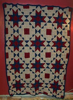 Ravelry: Starcrossed Crochet Quilt pattern by C.L. Halvorson - Free Ravelry Pattern Download