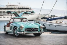 Mercedes-Benz revealed the production 300 SL 'Gullwing' alongside the similarly styled 190 SL at the 1954 International Motor Sports Show in New York. The glitzy occasion came just six months after the board had gratuitously succumbed to the American Mercedes agent Max Hoffman's tireless pleas for a sports car to offer his well-heeled clientele. Derived from the successful purpose-built 300 SL racing cars, the 'Gullwing' proved immediately popular, despite its eye-watering 29,000 DM price…