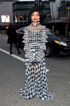 Yara Shahidi   We've grown to love actress and activist Yara Shahidi as Zoey Johnson on Black-ish, and can't wait to see her next year on the show's spinoff, Grown-ish, but in addition to her acting talent, we're also a huge fan of Shahidi's amazing style! (Who else can slay a red carpet at only 17 years old?!) Click through to see every single time the actress lit up the carpet in style this year.