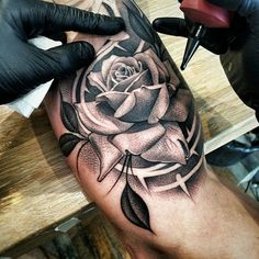 Rose b & w