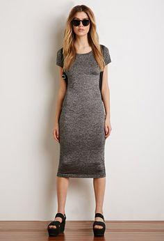 Marled T-Shirt Dress | Forever 21 - 2000094954