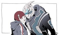 by your side by Wei723.deviantart.com on @deviantART #masseffect #shakarian