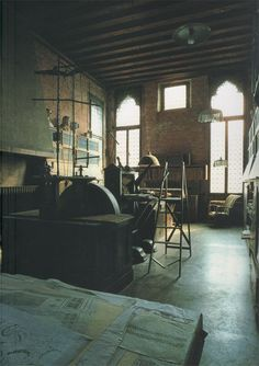 Mariano Fortuny's studio in Venice
