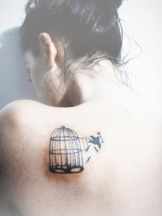 reminds me of 'why the caged bird sings' ... sorta