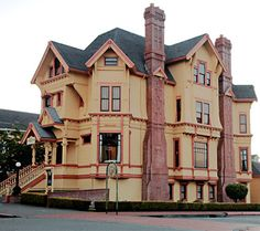 """Carter House Inns, 301 L Street, Eureka, California. """"Restaurant 301 at the Carter has been a proud recipient of the Wine Spectator's most prestigious honor, the Grand Award, every year since 1998."""" (dated 2012)"""