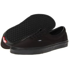 Vans Era Skate Shoes ($45) ❤ liked on Polyvore featuring shoes, sneakers, vans, laced shoes, vans footwear, laced up shoes, vans sneakers and lace up sneakers