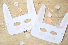 DIY : un masque «Lapin» pour Pâques