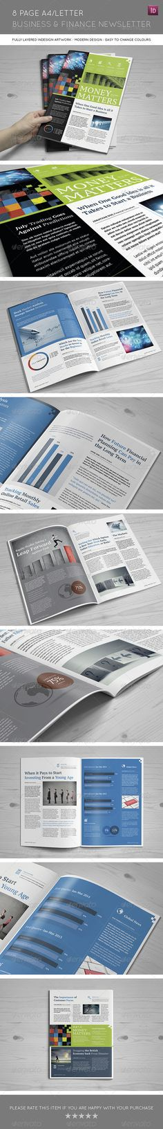 Business Newsletter Newsletter templates, Print templates and - free business newsletter templates
