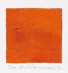 Jan. 25 2014  Original Abstract Oil Painting  by hiroshimatsumoto
