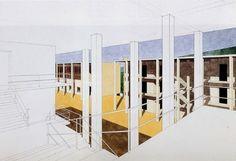 Casa dello studente (1976) Chieti   Giorgio Grassi