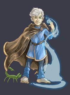 Pathfinder Halfling Wizard by facelesscow on DeviantArt