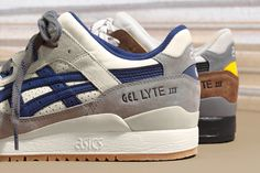 J.Crew and ASICS have once again come together to rework the GEL-Lyte III.