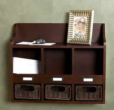 Mail Organizer Ideas : Mail Organizer Box Wall Mount With Nuts Image id 10912 - GiesenDesign