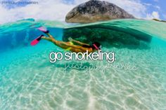 I've done this in shallow water in Lanzarote but I wanna go somewhere with water like this
