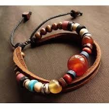 Résultats Google Recherche dimages correspondant à http://www.1stepbuy.com/1731-3411-large/diy-vintage-features-hand-beaded-bracelet-cow-leather-cord-red-big-bead-colorful.jpg
