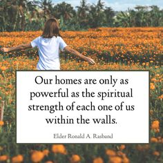 """20 quotes from """"Build a Fortress of Spirituality and Protection"""" by Elder Ronald A. Lds Quotes, Inspirational Quotes, General Conference Quotes, Uplifting Thoughts, Church Quotes, Saint Quotes, Latter Day Saints, Relief Society, Knowing God"""
