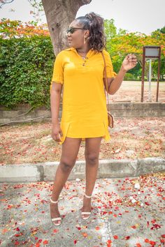 The Mustard Shirt Dress Mustard Shirt, Shirt Dress, T Shirt, Lifestyle Blog, Red, Fashion Tips, Dresses, Fashion Hacks, Shirtdress