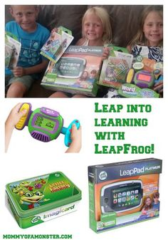 If you're looking for a great way to combine play and learning, look no further than LeapFrog! LeapFrog makes learning fun, and your kids will love to play!