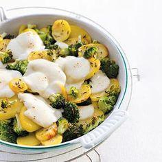 Recept - Broccoli-mozzarellaschotel - Allerhande